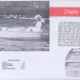 1955 16-Dinghy Bee